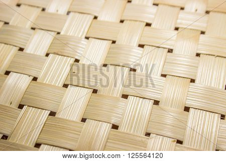 close up bamboo rattan for wood background