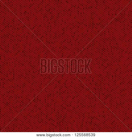 Cloth Jersey Overlay Hand Made Texture Of Red Color For Your Design. Hand Made. Grunge design Empty Element. EPS10 vector.