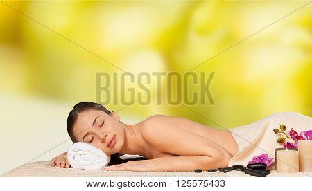 Woman spa.