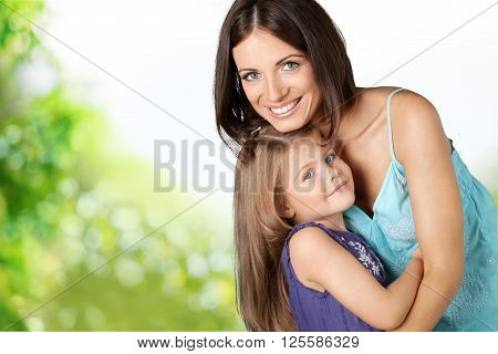 Child and Mother.