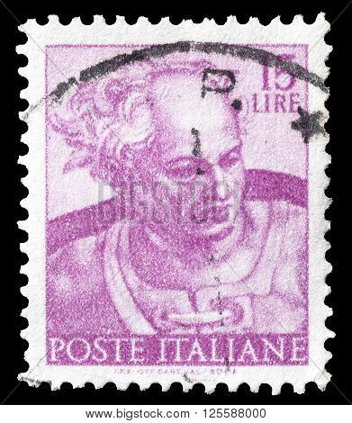 ITALY - CIRCA 1961 : Cancelled postage stamp printed by Italy, that shows Joel.