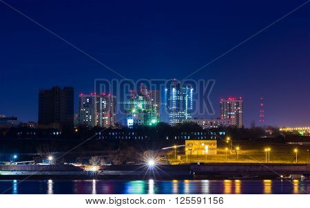 Lights Of The City At Night