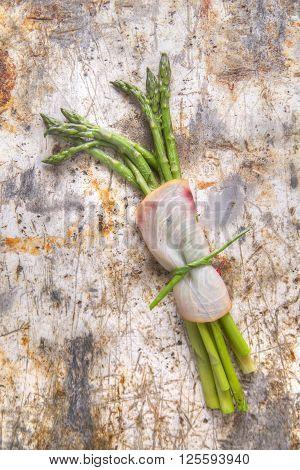 Asparagus With Swordfish