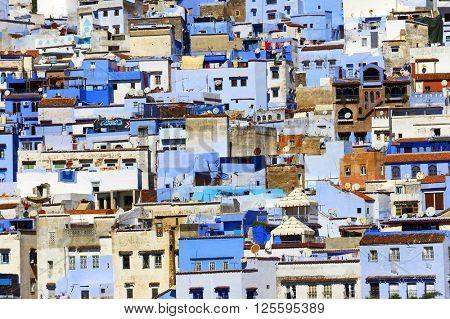 Medina of Chefchaouen, Morocco, Africa