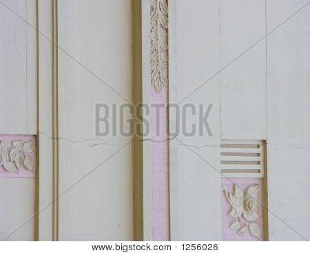 Cracked Art Deco Wall