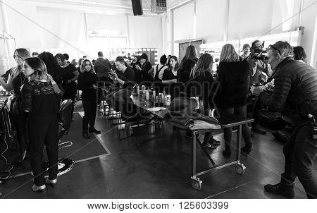 Custo Barcelona - Fall 2016 Collection - Backstage
