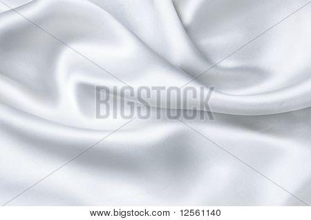 Weißer Seide Hintergrund