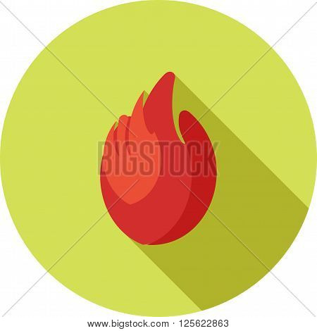 Fire, station, fireman icon vector image.Can also be used for security. Suitable for mobile apps, web apps and print media.