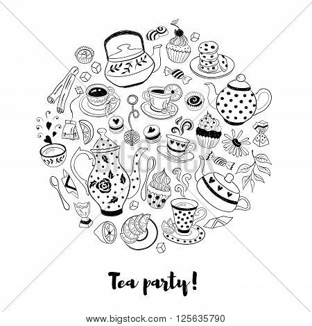 Tea Party Illustration