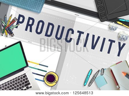 Productivity, Production Working Business Concept