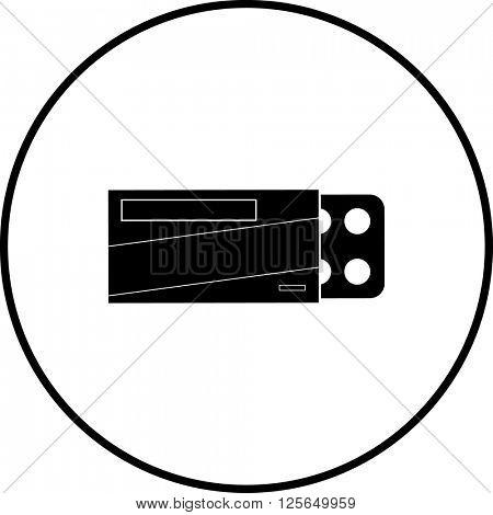 compressed tablets medicine symbol