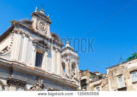 Church Of The Girolamini, Naples, Italy