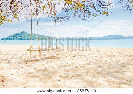 A peaceful scene at Rang Yai island