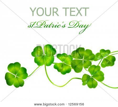 St.Patric's Day border