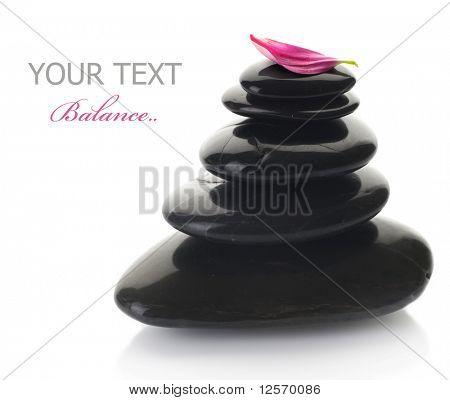 Spa Zen Stones stack