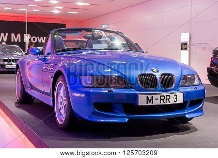 Munich, Germany - March 10, 2016: BMW Museum