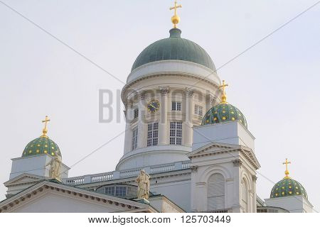 St. Nicholas Church in Helsinki, Finland.