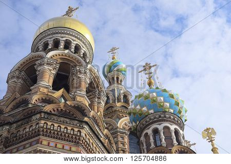 church of savior on Spilled Blood in St. Petersburg, Russia