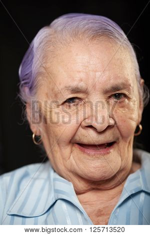 Portrait Of Smiling Grandma