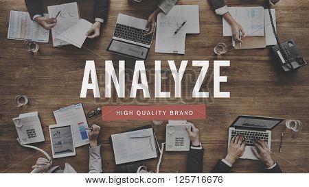 Analyze Plan Process Strategize Statistics Concept