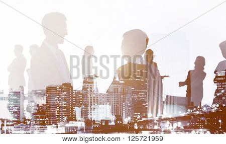 Business People Deal Agreement Partners Collaboration Concept