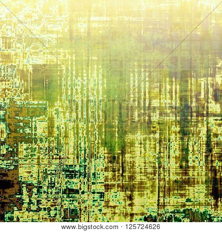 Art vintage texture for background in grunge style. With different color patterns: yellow (beige); brown; green; cyan; white
