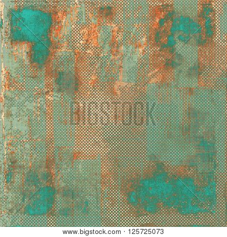 Hi res grunge texture or retro background. With different color patterns: brown; blue; red (orange); gray; cyan