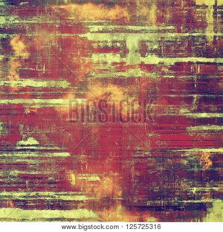 Art vintage texture for background in grunge style. With different color patterns: yellow (beige); green; purple (violet); red (orange); pink
