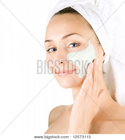 Spa Facial Mask.Day-spa