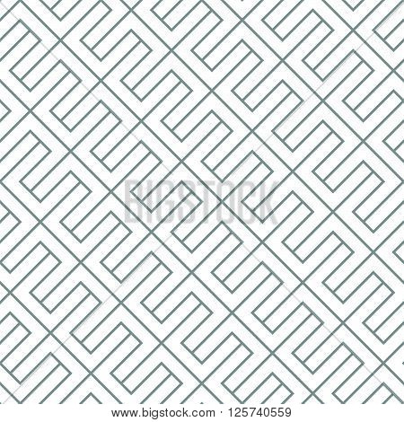 Simple diagonal geometric vector seamless pattern. Modern stylish texture.