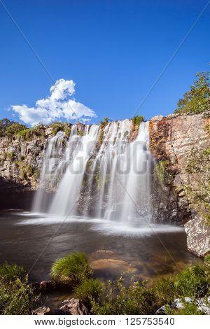 Gruta Waterfall - Serra da Canastra National Park - Delfinopolis - MG - Brazil