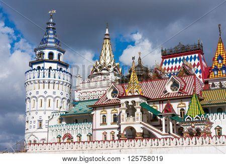 Kremlin In Izmailovo in Moscow