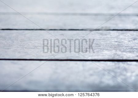 Abstract Blue Filter Shallow Depth Of Field Old Wood Background