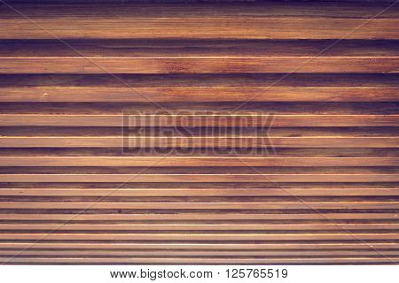 Design Of Wood Ceiling, Wooden Stick Varnish Shiny For Decoration Interior