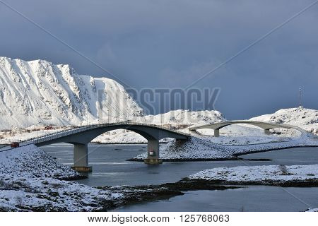 The Fredvang Bridges