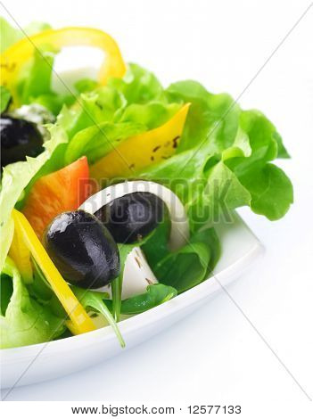 Salad.Healthy eating concept