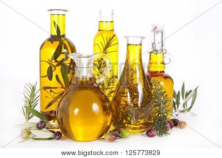 assorted bottle of oil