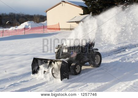 Clearing The Driveway