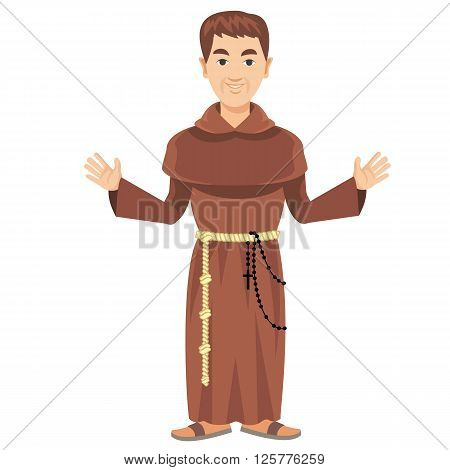 Franciscan Monk-02.eps