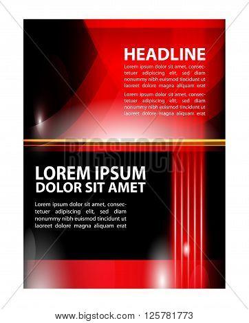 modern brochure design.Vector business brochure, flyer template