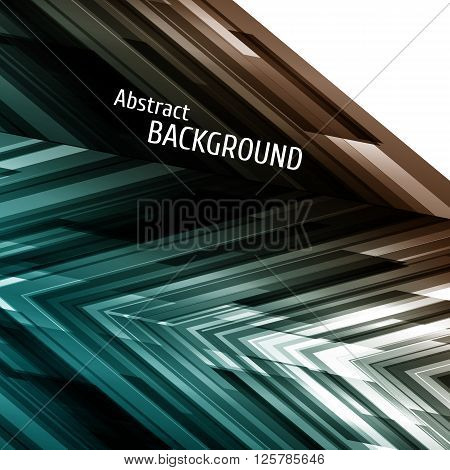 Abstract geometric background. Asymmetry design. For party poster disco flyer music banner business report. Vector illustration.