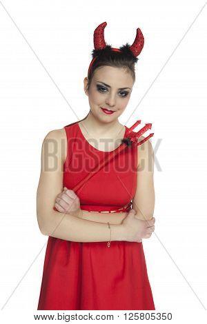 Portrait Of A Woman Devil