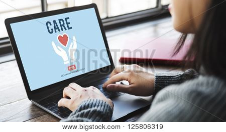 Care Give Charity Share Donation Foundation Concept