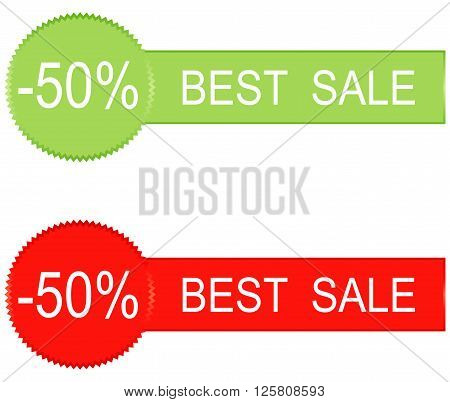 50 percent sale icons design vector illustration