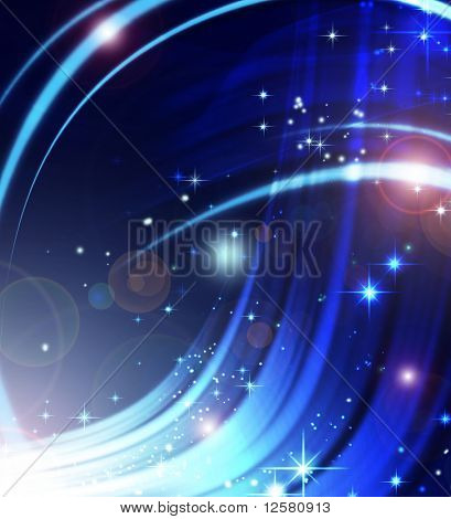 Abstract Winter Shiny Background