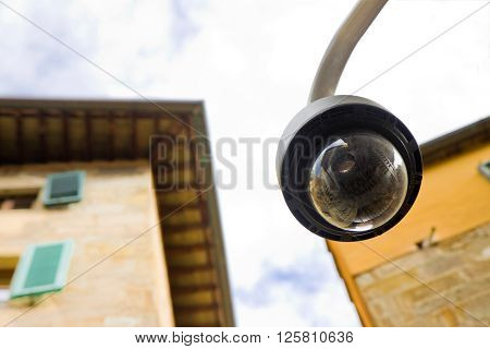 Security Camera - concept image with copy space