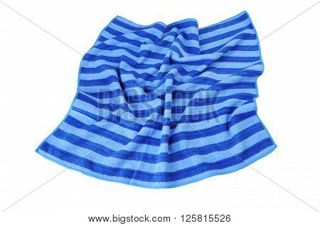 Beach Towel spread out a top view.