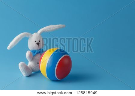 Soccer Rabbit With Ball