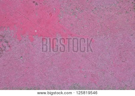 Purple Pink Painted Concrete Wall Or Floor