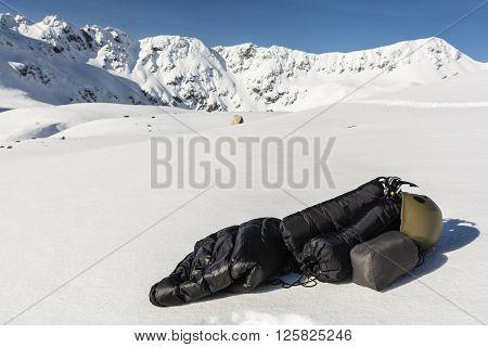 Winter Tourist Equipment.